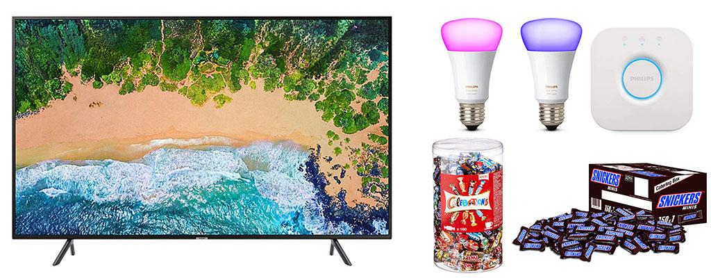 Amazon Herbst-Angebote am 24. September – Samsung UHD-TV, SanDisk SSD
