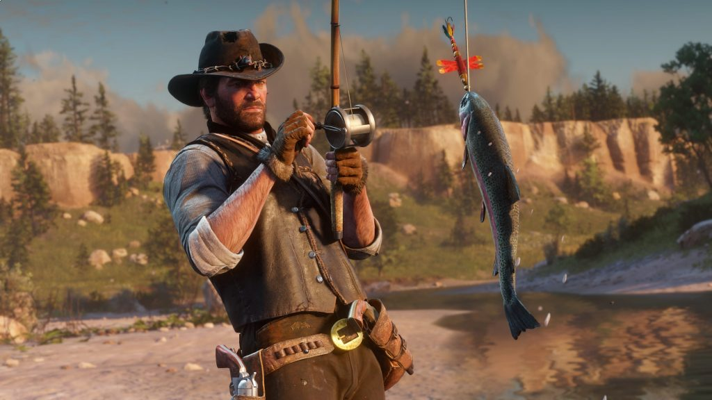 red dead redemption 2 fischen header