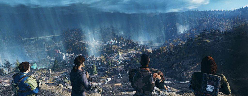 Fallout 76 verrät Namen der Map, zeigt eine schräge Waffe