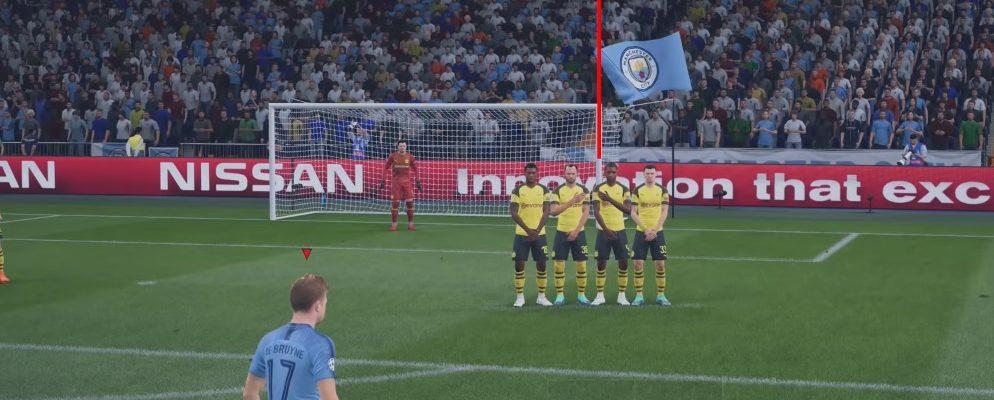 Diese Freistöße sind in FIFA 19 effektiv – So geht der perfekte Freistoß
