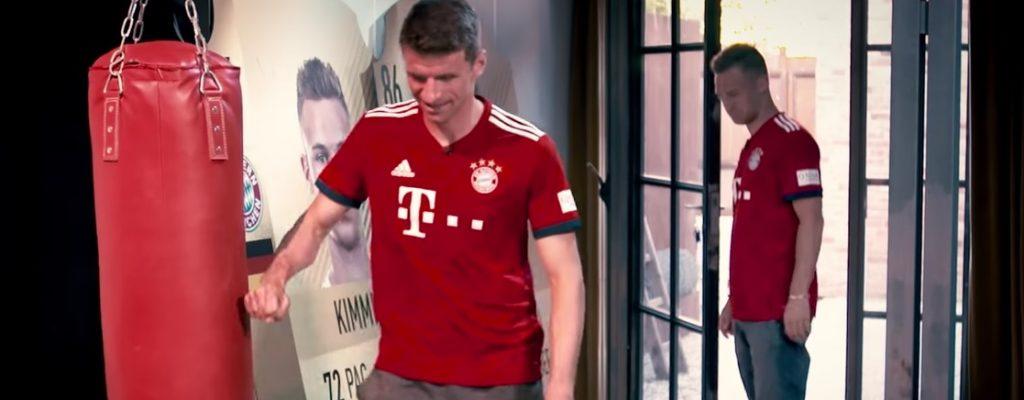 Seht hier, wie Müller und Ronaldo über ihre FIFA-Ratings meckern