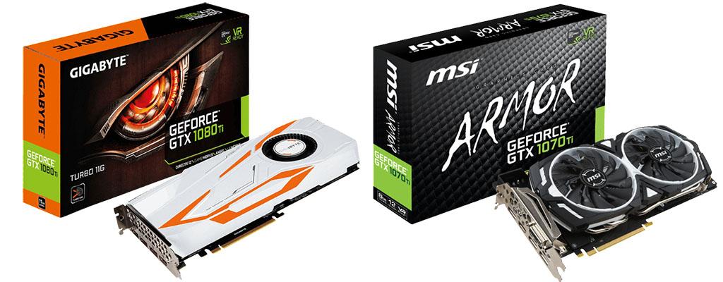 Grafikkarten, SSDs und weitere PC-Komponenten im Angebot