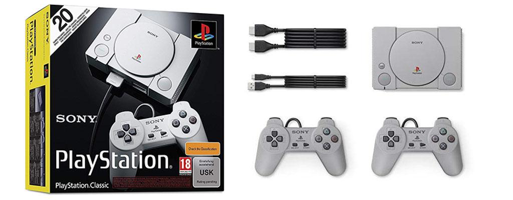 PlayStation Classic – Mini-Konsole bei Amazon vorbestellen