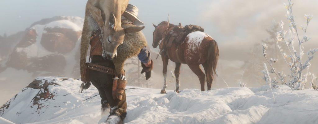 So funktioniert das Jagen und Fischen in Red Dead Redemption 2