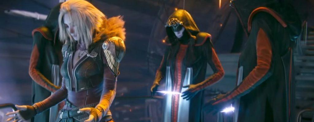 In Destiny 2 verrät Euch eine Tech-Hexe Geheimnisse für einen Triumph