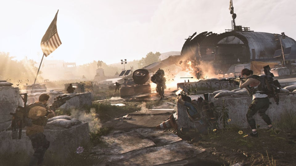 the division 2 dev blog header