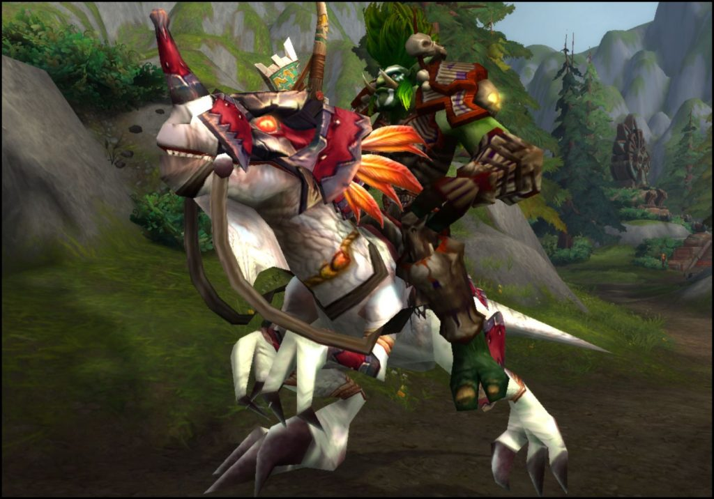 wow wowhead kriegsfronten warfronts swift albino mount