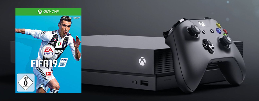 Die Amazon Herbst-Angebote sind da – Xbox One X im Bundle mit FIFA 19