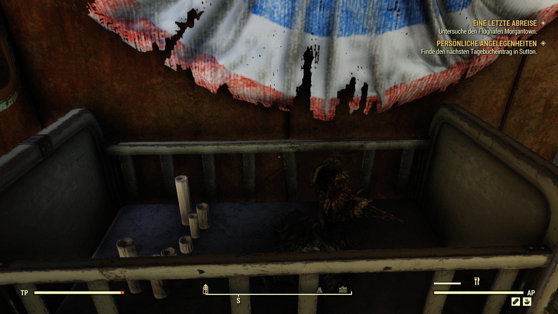 Fallout 76 baby bett