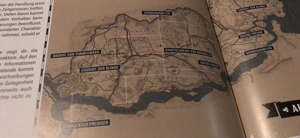 Red Dead Redemption 2 Leak Map