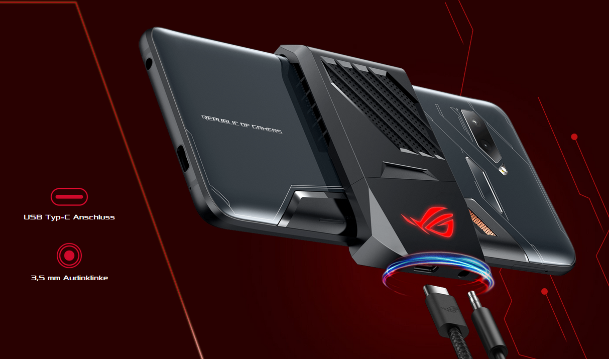 Asus ROG PHone active cooler