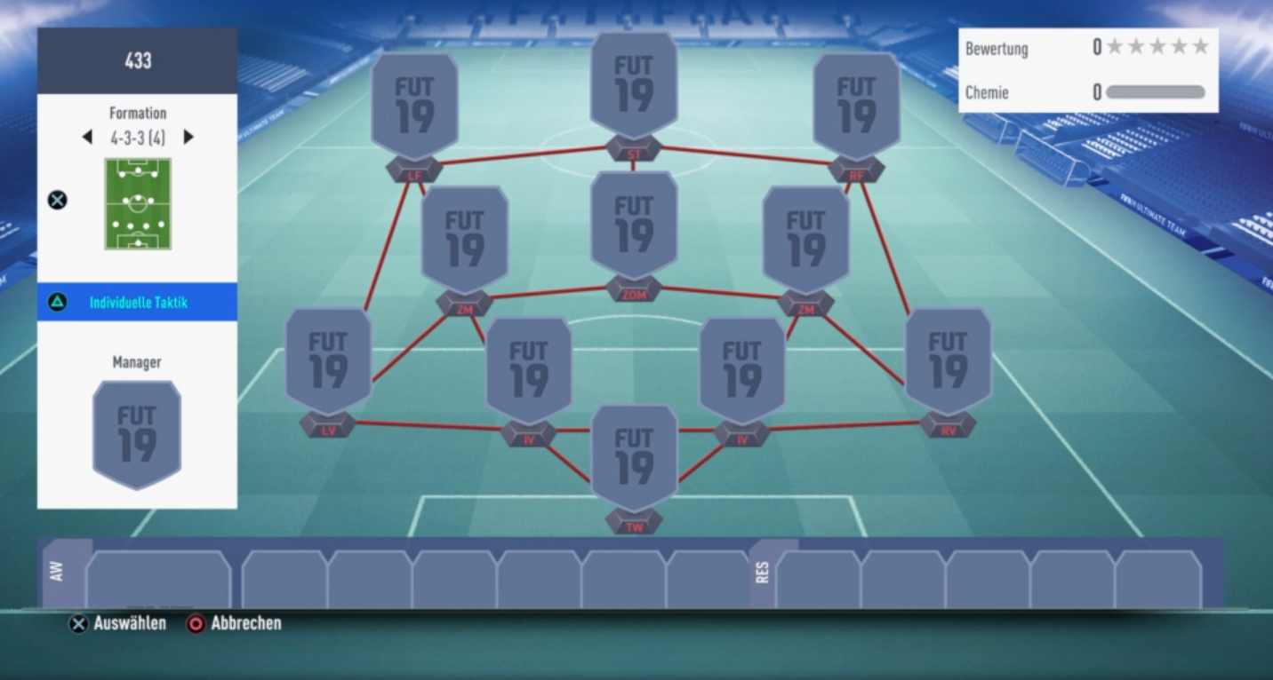 FIFA 19 4-3-3 Formation