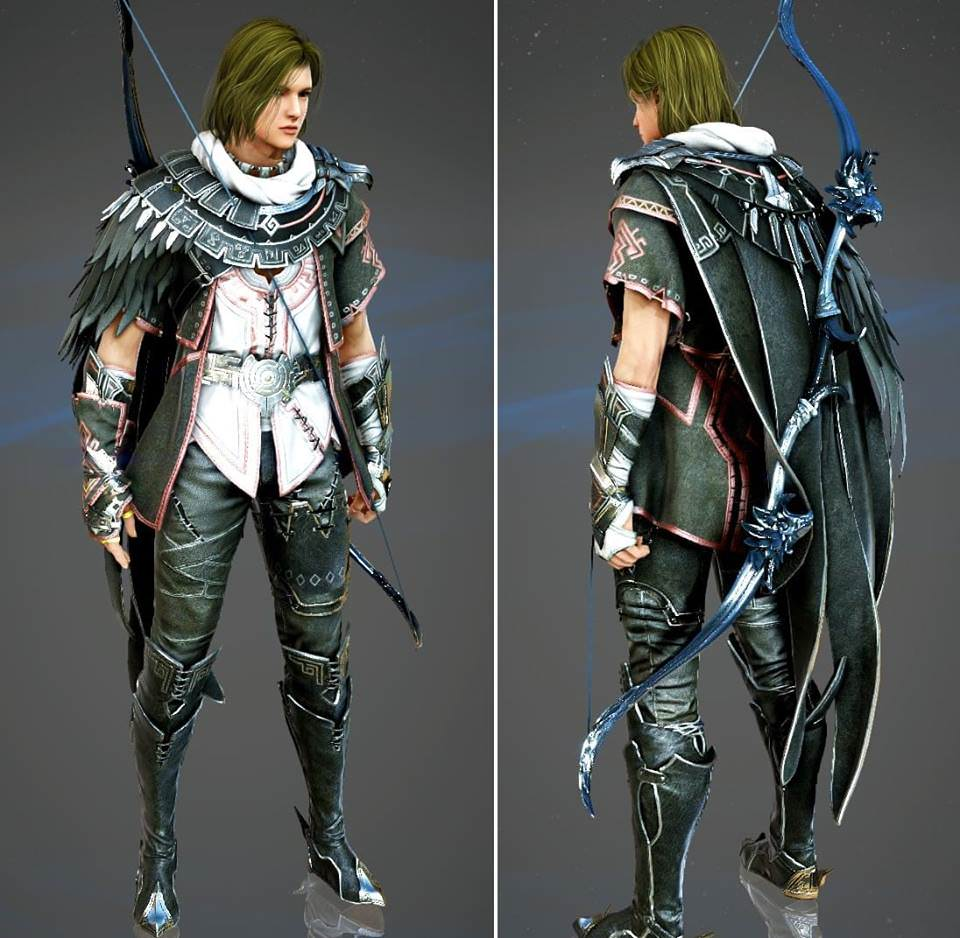 Black Desert Archer Concept Art 3