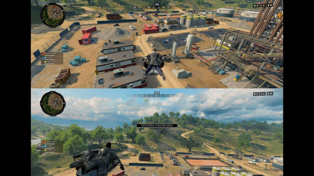 Black Ops 4 Blackout Splitscreen