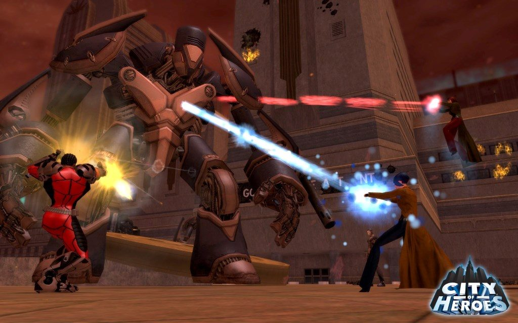 City of Heroes Screenshot