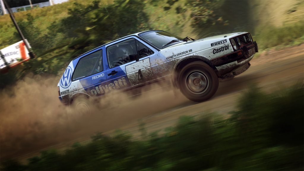 DIRT Rally staubiger Golf