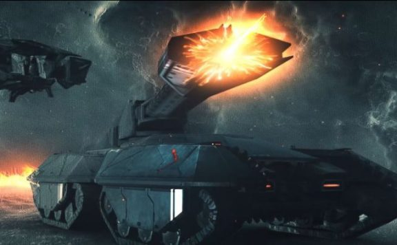 EVE Project Nova Trailer Panzer Titel