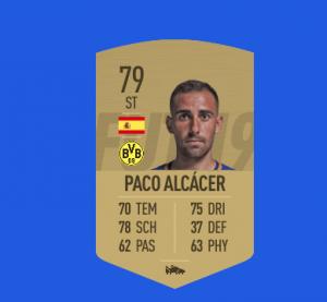 FIFA 19 Bundesliga Alcacer
