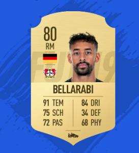 FIFA 19 Bundesliga Bellarabi