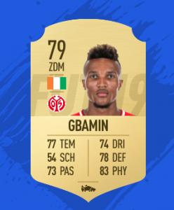 FIFA 19 Bundesliga Gbamin