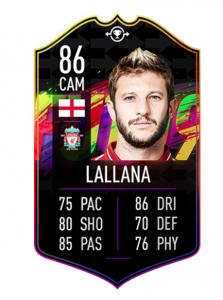 FIFA 19 FUT Swap Deals Lallana