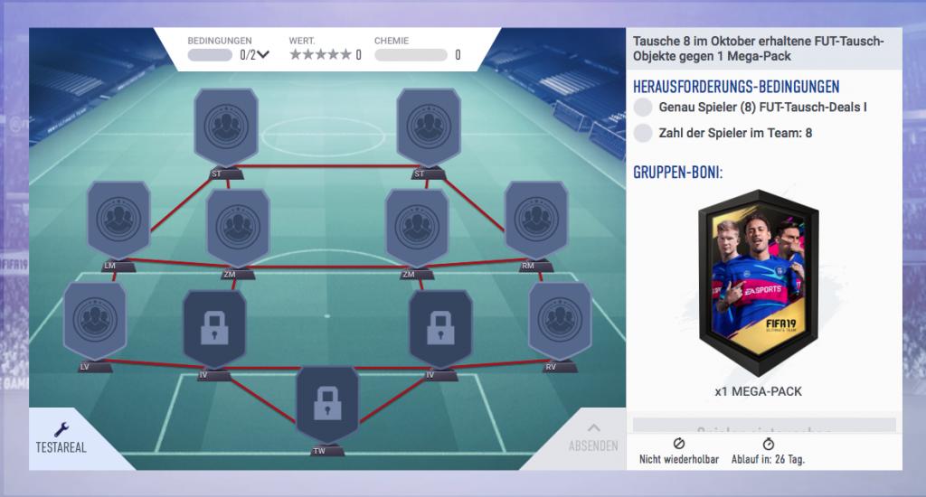 FIFA 19 FUT Swap Deals Squad Building Challenge