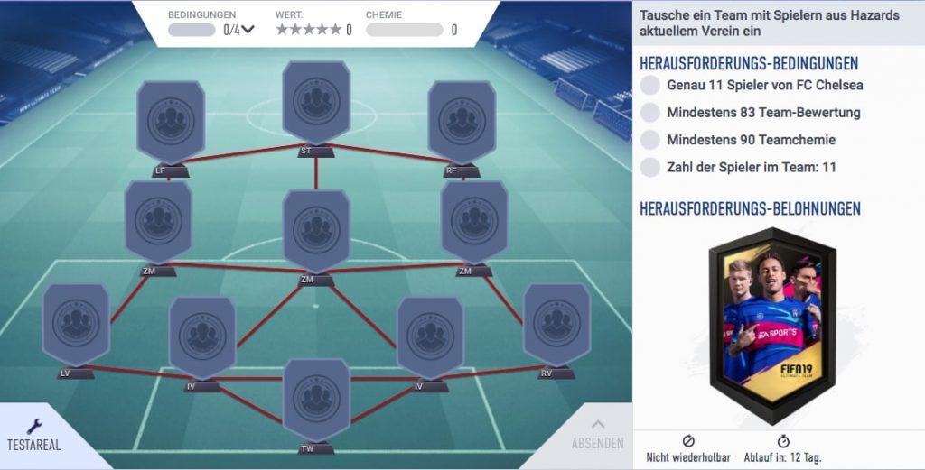 FIFA 19 Hazard SBC