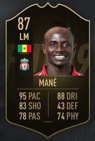 FIFA 19 Mane TOTW