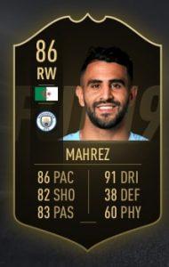 FIFA 19 TOTW 6 Mahrez
