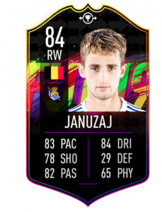 FIFA FUT 19 Swap Deals Januzaj