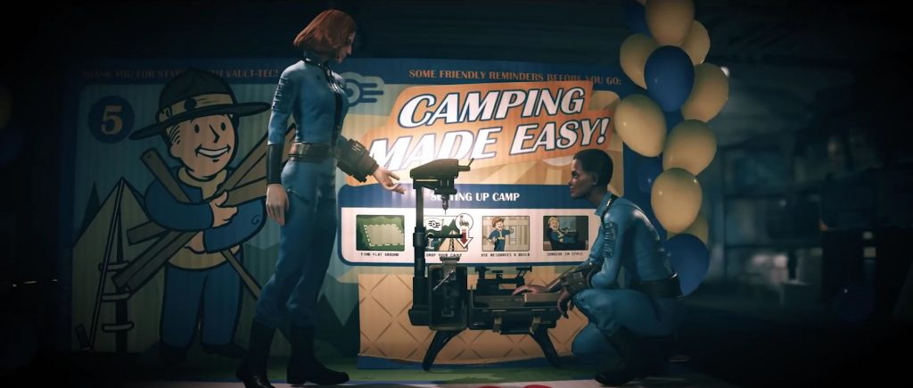 Fallout 76 Camping made easy