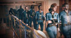Fallout 76 Menschen gehen in die Vault 2