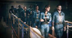 Fallout 76 Menschen gehen in die Vault
