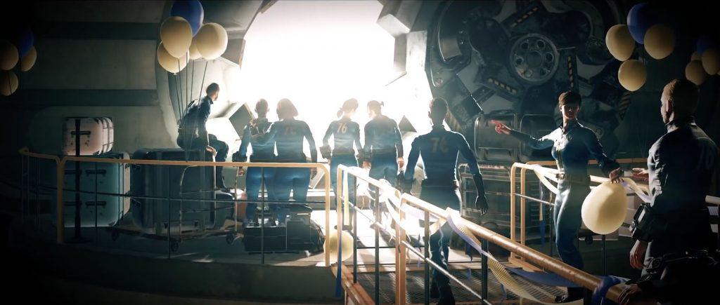 Fallout 76 Menschen verlassen die Vault