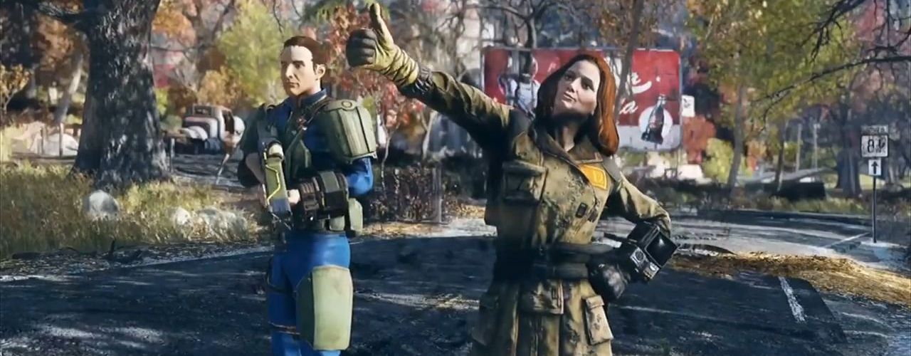 Fallout 76 Thumbs Up Gameplay Titel