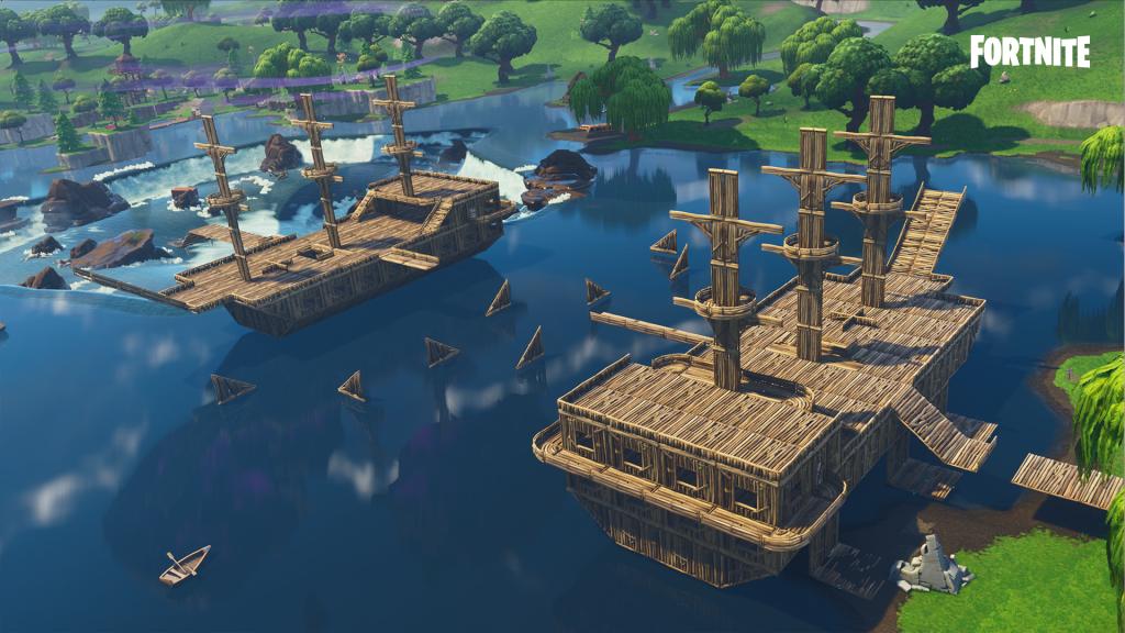 Fortnite-Schiffe