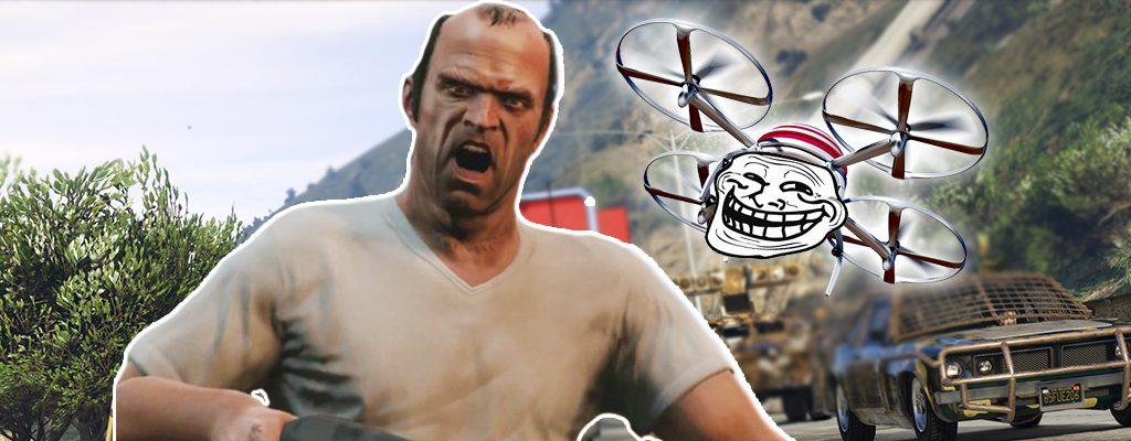 GTA 5 Online Trevor Drohne Genervt
