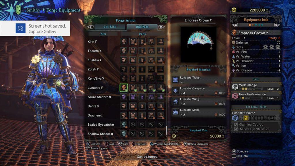 monster hunter world lunastra gamma helm