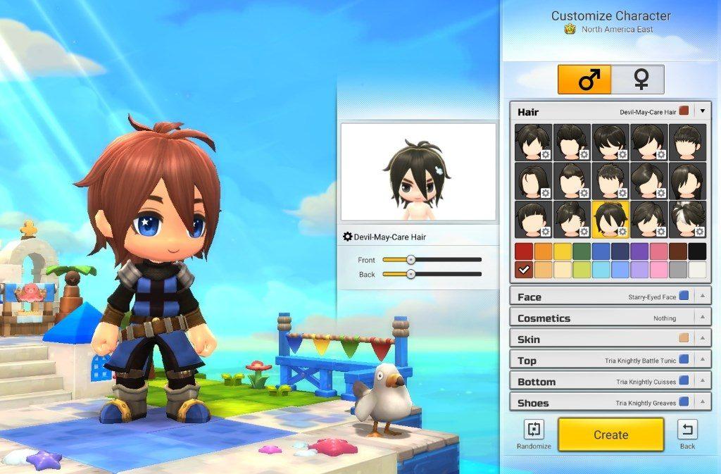 MapleStory 2 Charakter