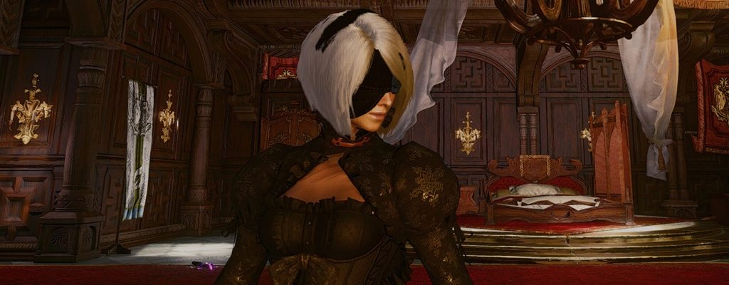 Mod bringt Outfit aus Nier: Automata  zu Monster Hunter: World