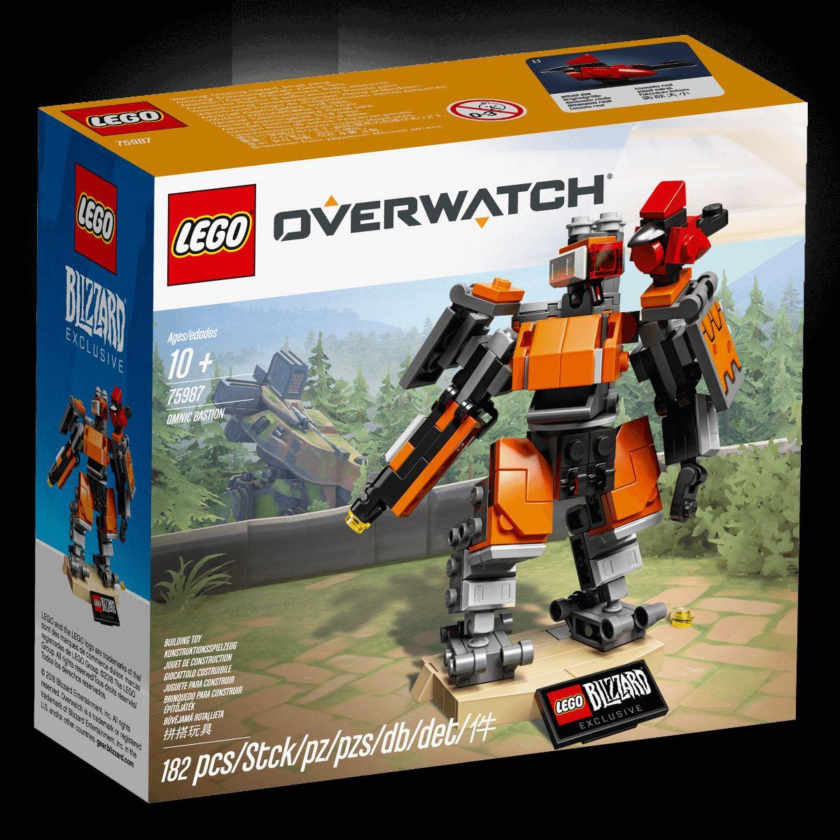 Overwatch Bastion Lego Packshot