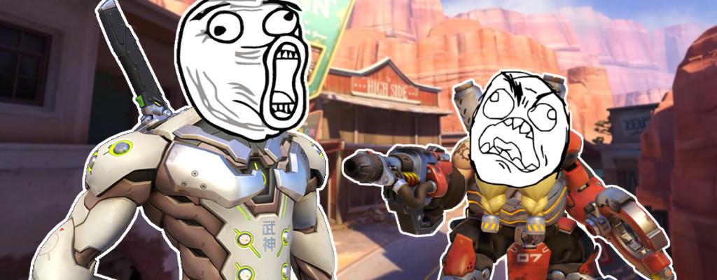 Genji löscht ein Team in Overwatch aus und Torbjörn ist schuld