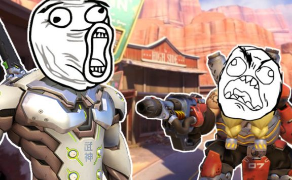 Overwatch Genji reks Torbjörn on Route 66 Titel