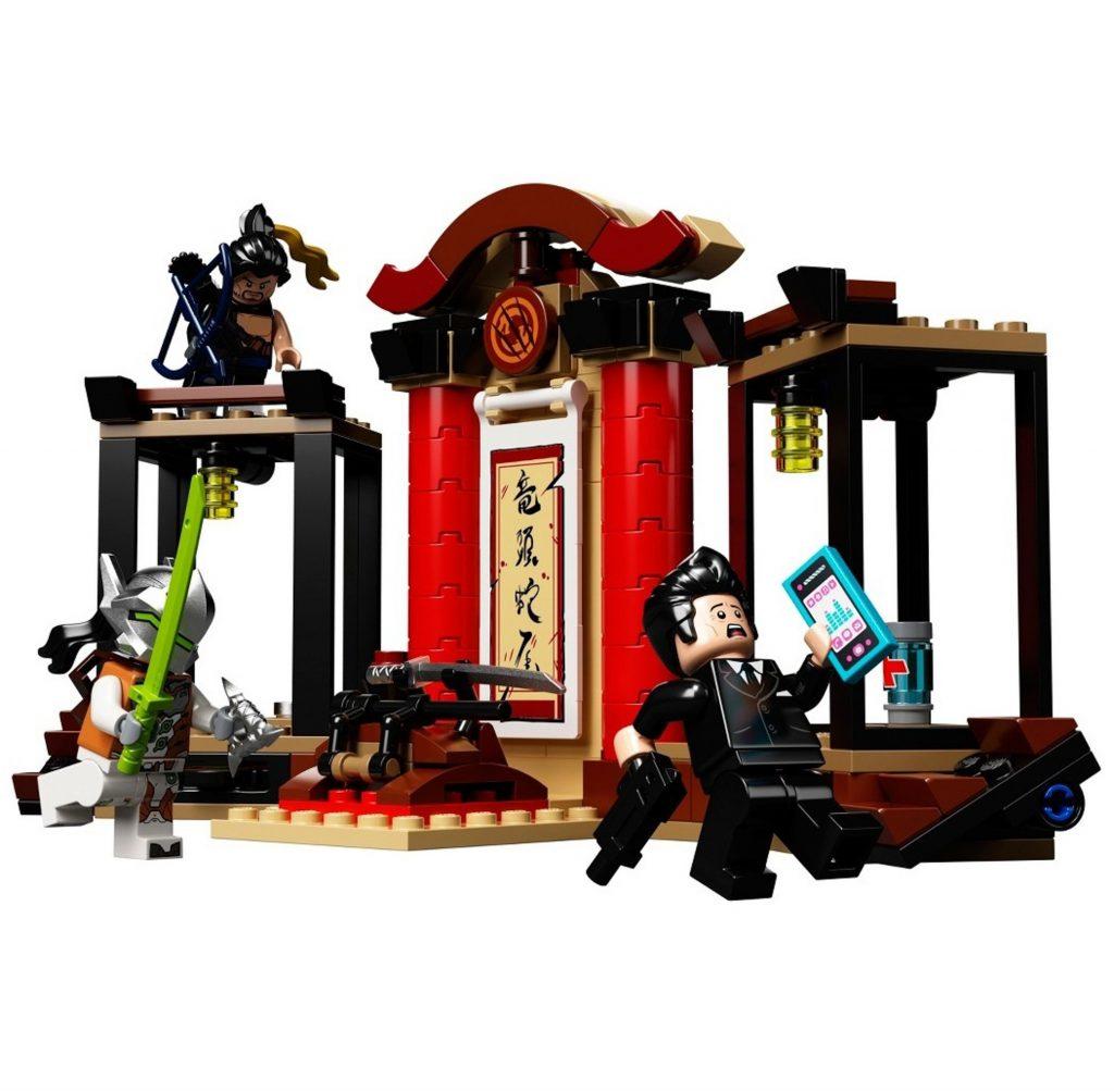 Overwatch Lego Genji Hanzo