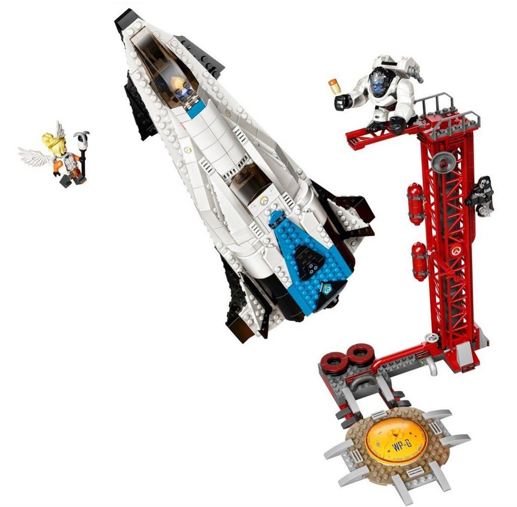 Overwatch Lego Mercy Pharah Reaper Winston