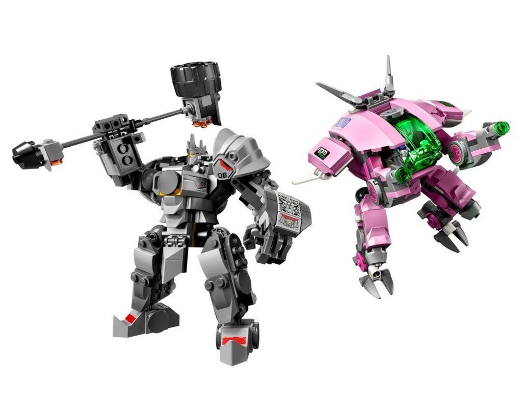 Overwatch Lego Reinhardt Dva