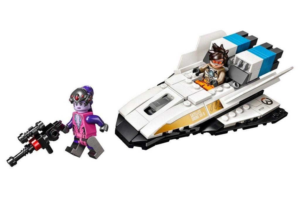 Overwatch Lego Widowmaker Tracer