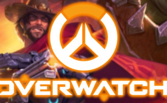 Overwatch Logo Blizzcon header McCree