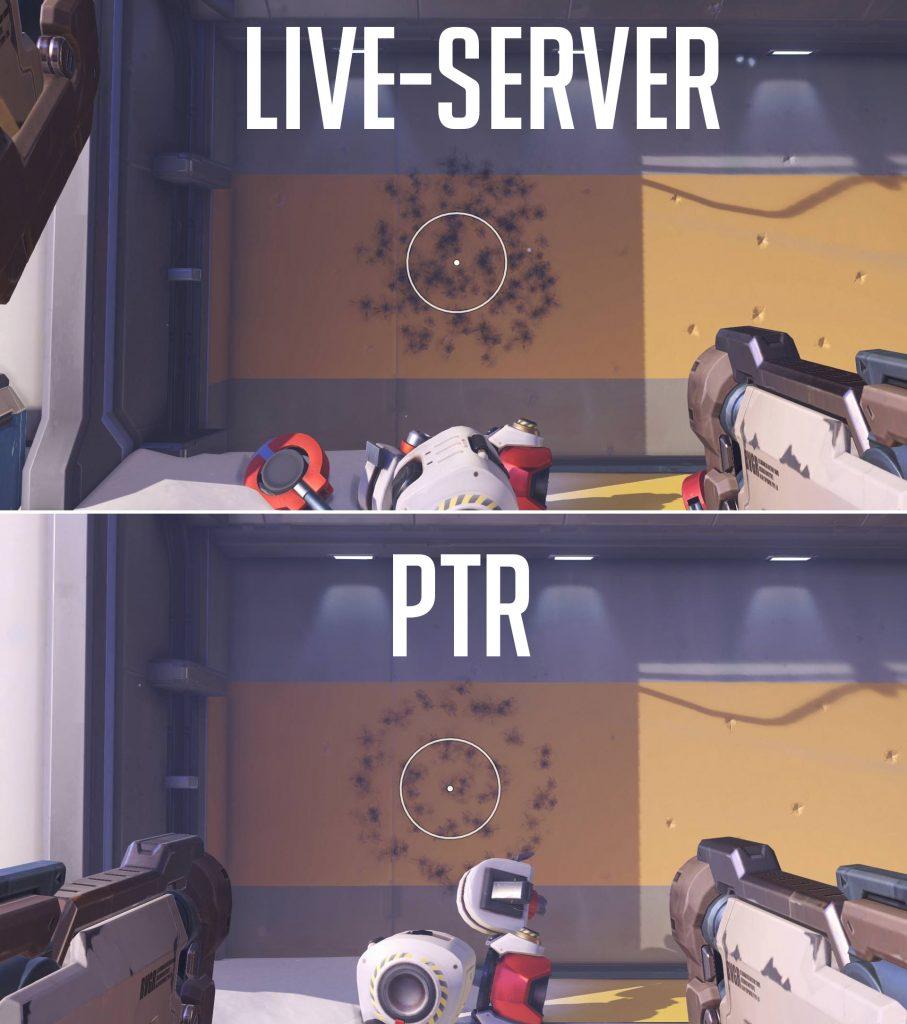 Overwatch Reaper Spraypatterns Vergleich