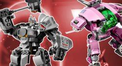 Overwatch Reinhardt Dva Lego title